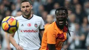 Dusko Tosic Bafetimbi Gomis Besiktas Galatasaray 12022017