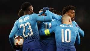Danny Welbeck Sead Kolasinac Jack Wilshere Arsenal