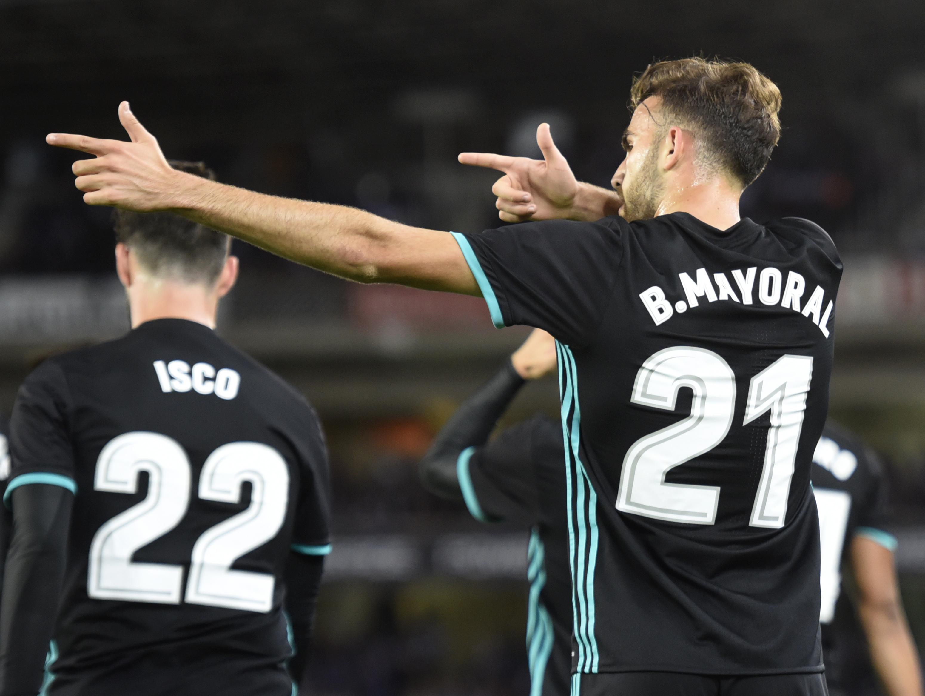 Borja Mayoral Real Madrid