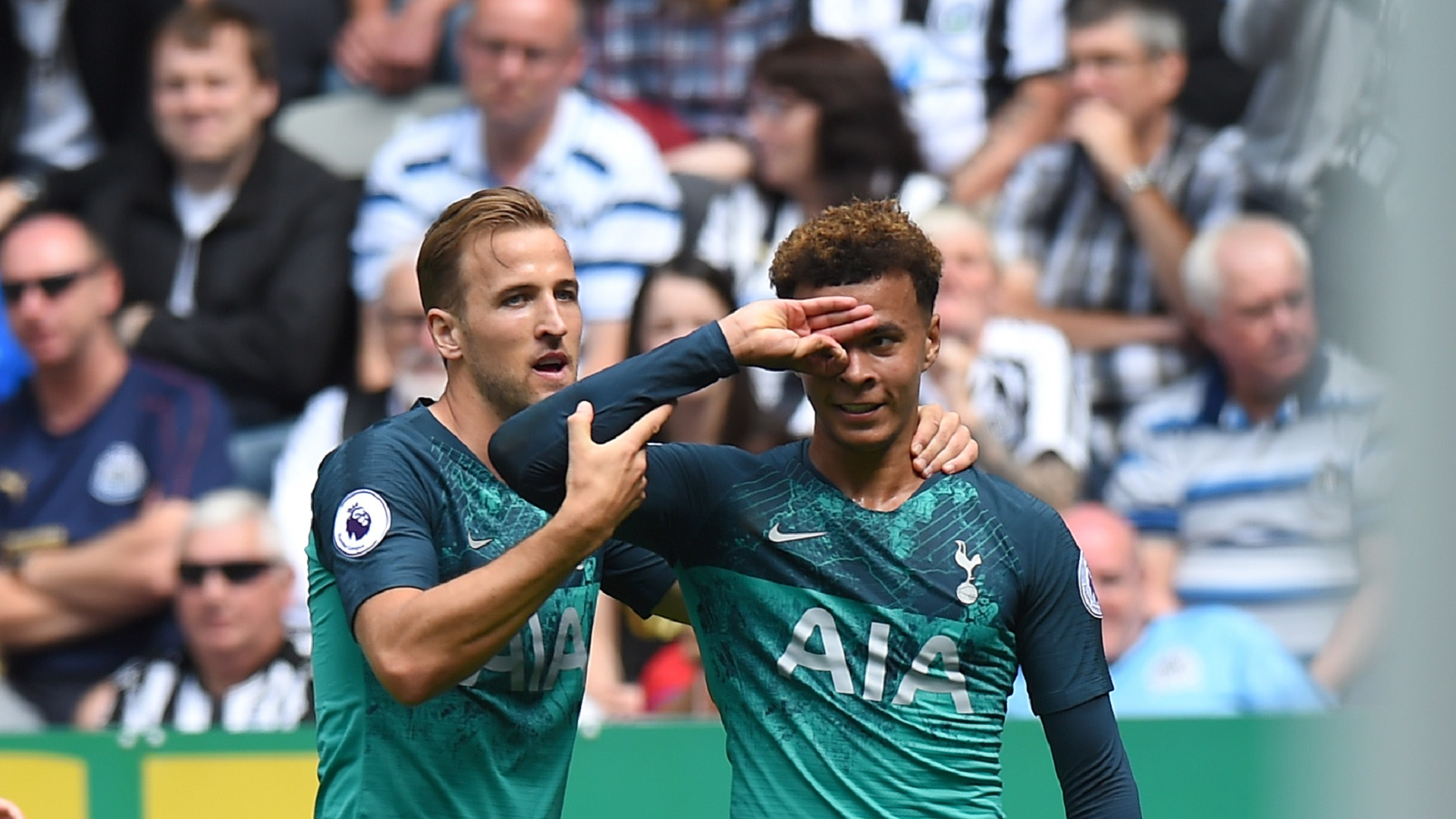 Harry Kane Dele Alli Spurs 11082018
