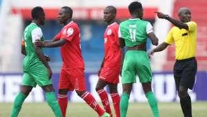 Musa Mohammed of Gor Mahia v Ulinzi Stars.