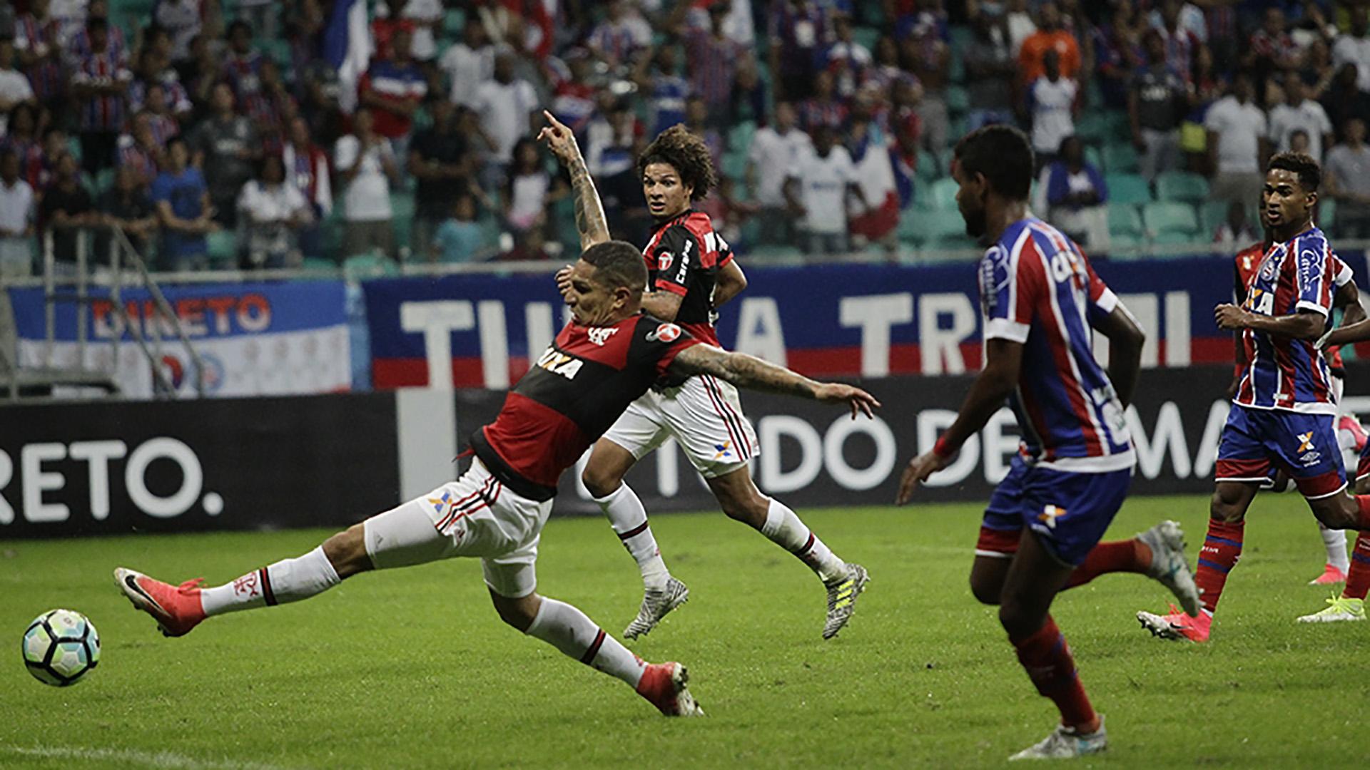 Paolo Guerrero Bahia Flamengo Brasileirao Serie A 25062017