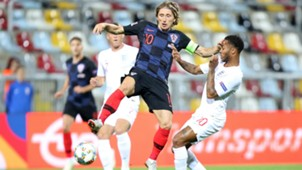 croatia england - luka modric raheem sterling - nations league - 12102018