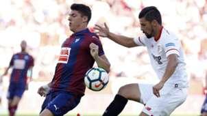 Ander Capa Nolito Sevilla Eibar La Liga