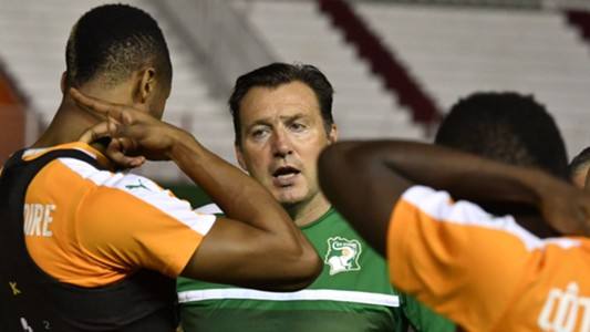 Marc Wilmots of Ivory Coast