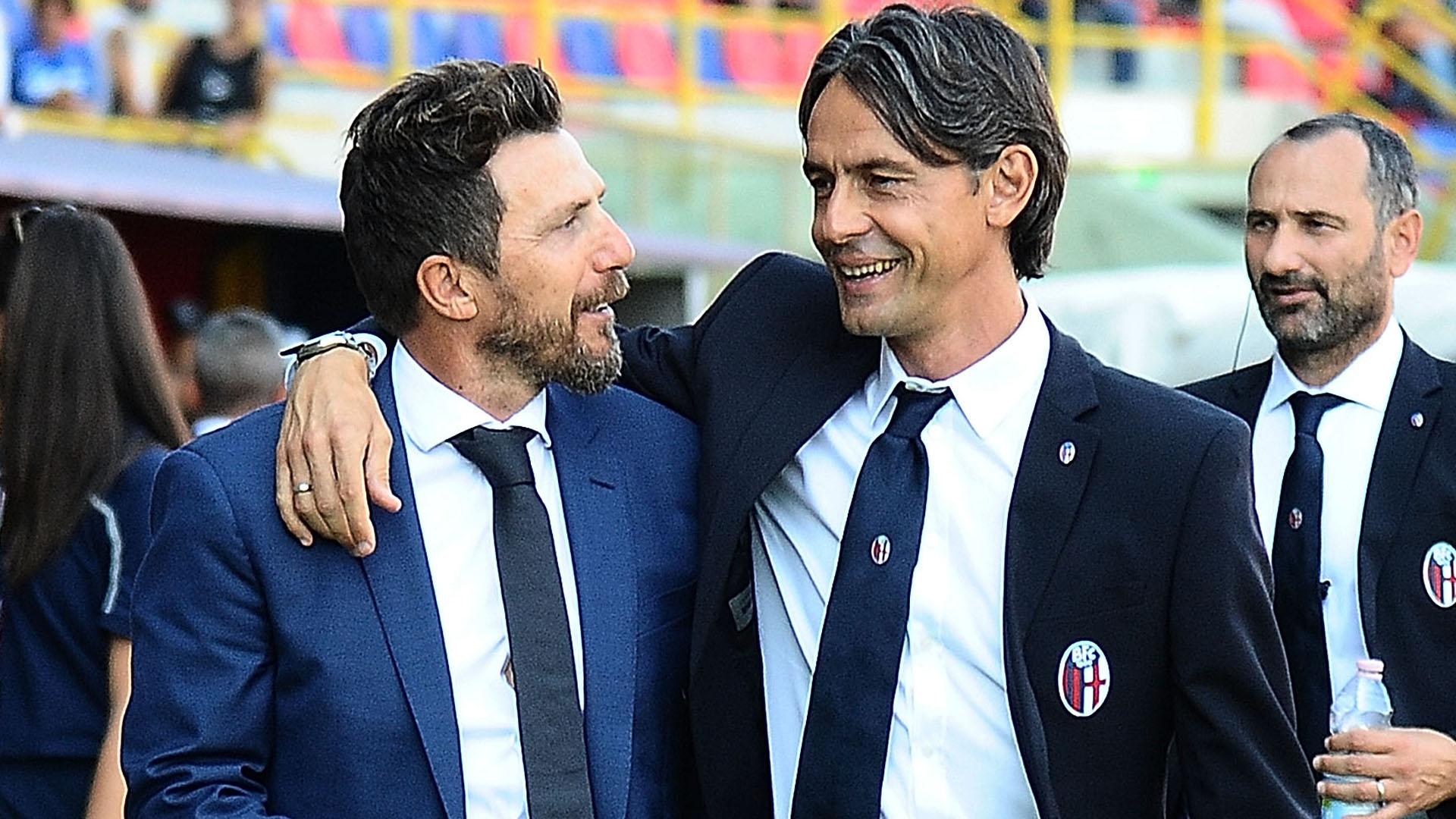 Filippo Inzaghi Eusebio Di Francesco Bologna Roma Serie A