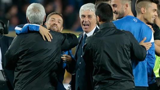 Gasperini Papu Gomez Atalanta Serie A