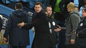 Maurizio Sarri Pep Guardiola Manchester City Chelsea Premier League 10022019