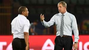 South Africa v Namibia - Stuart Baxter and Ricardo Mannetti - June 2019