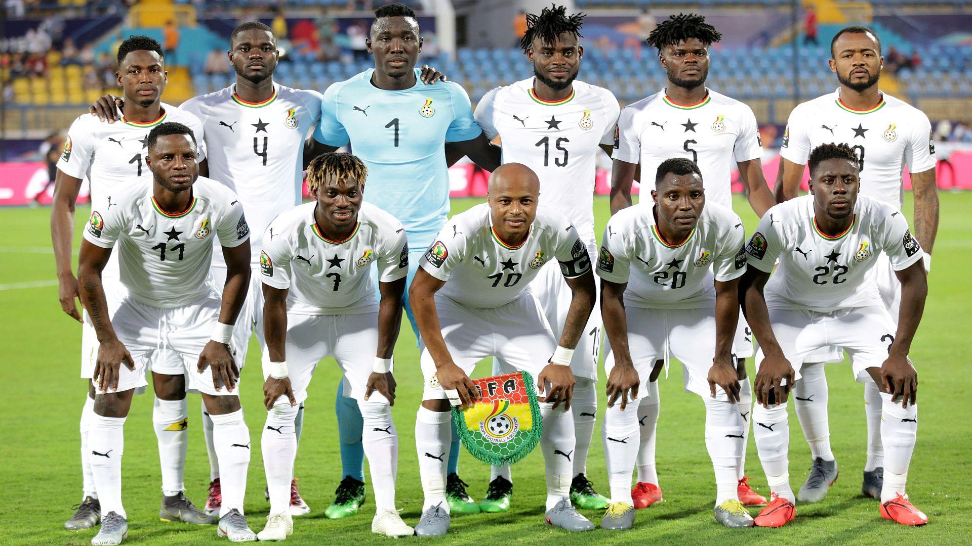 Ghana team Afcon 2019