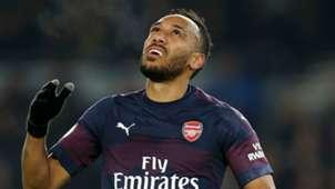 Pierre-Emerick Aubameyang Arsenal 2018-19