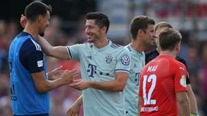 Robert Lewandowski FC Bayern DFB Pokal