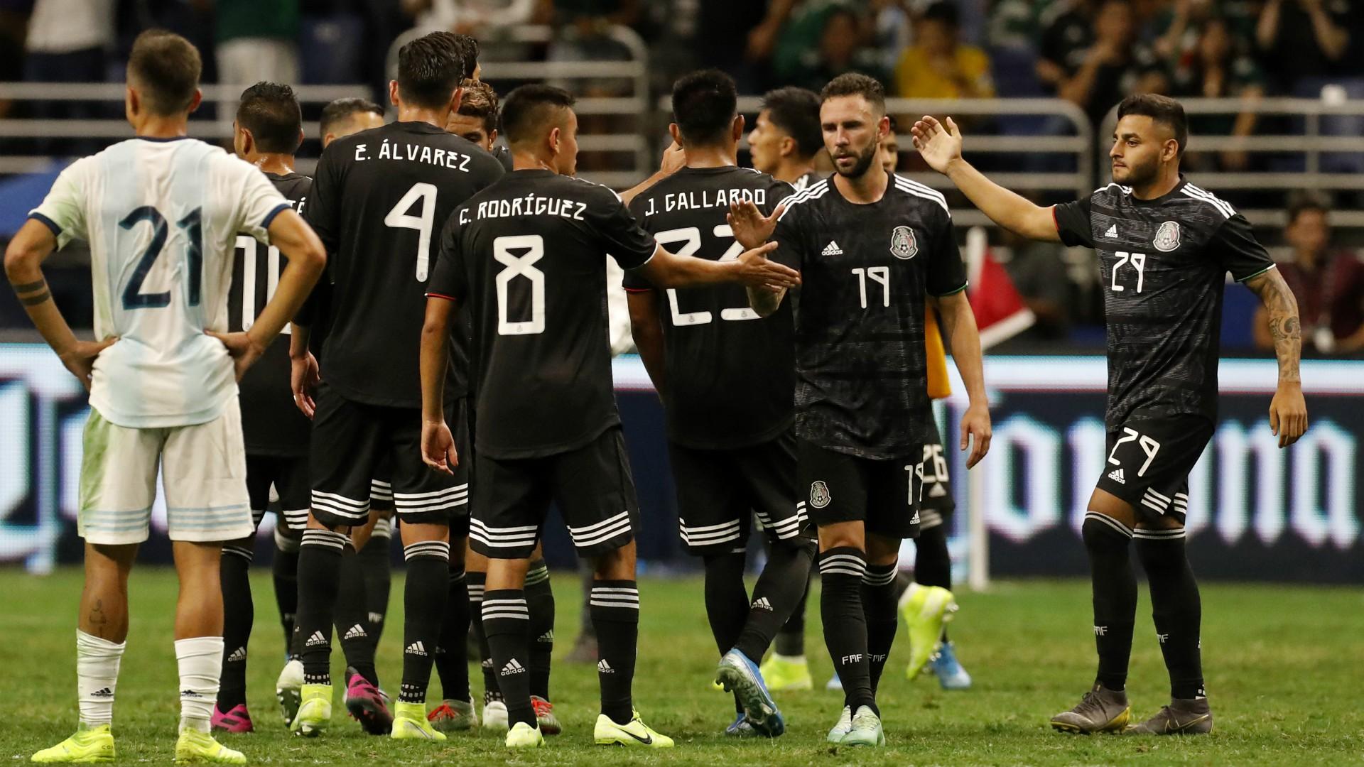 Selección mexicana México Argentina