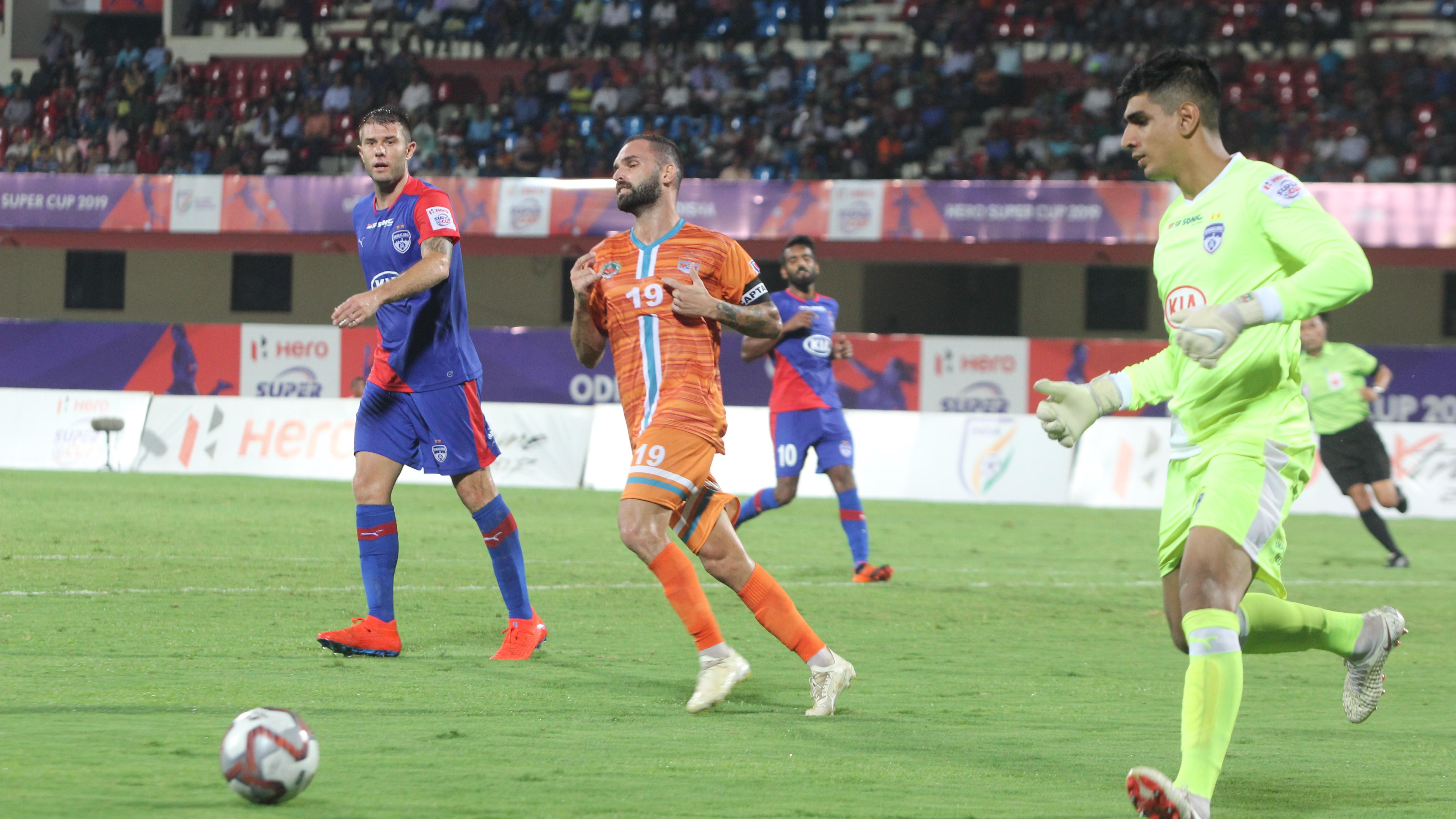 Pedro Manzi Bengaluru Chennai City Super Cup