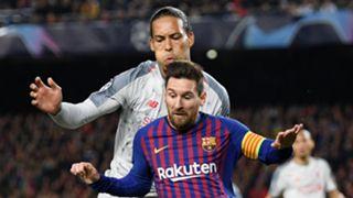 Virgil van Dijk Lionel Messi