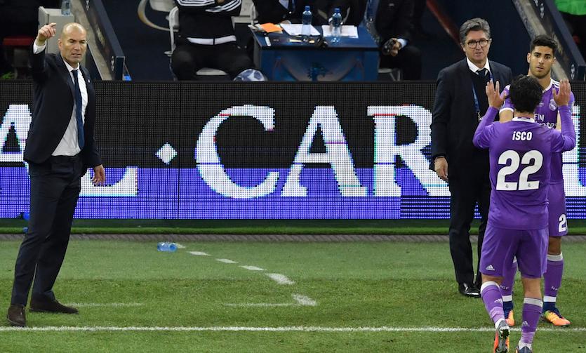 Zidane Asensio Isco
