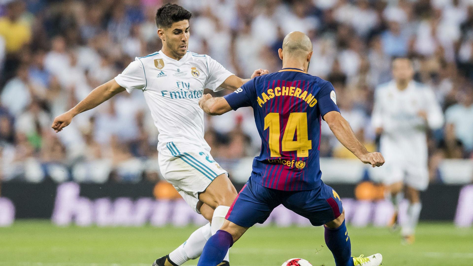 Mascherano Real Madrid Barcelona