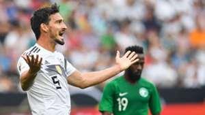 Mats Hummels Germany Saudi Arabia