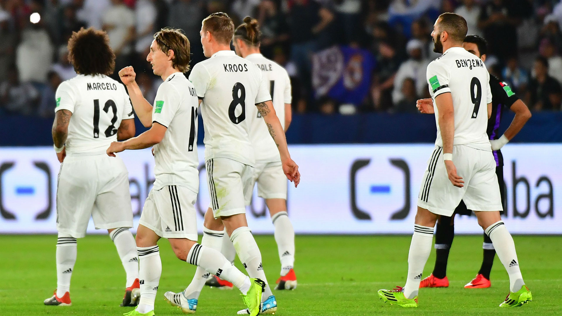 Luka Modric Real Madrid Al Ain CWC final