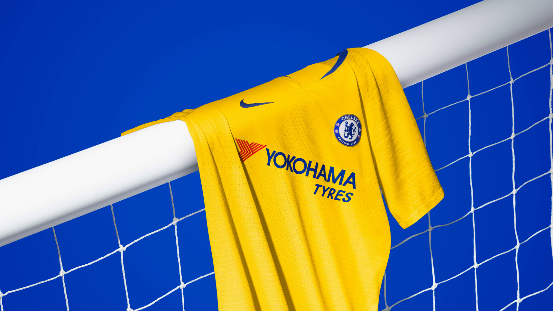 e47530e61 Chelsea news  Blues unveil yellow away kit for 2018-19 season