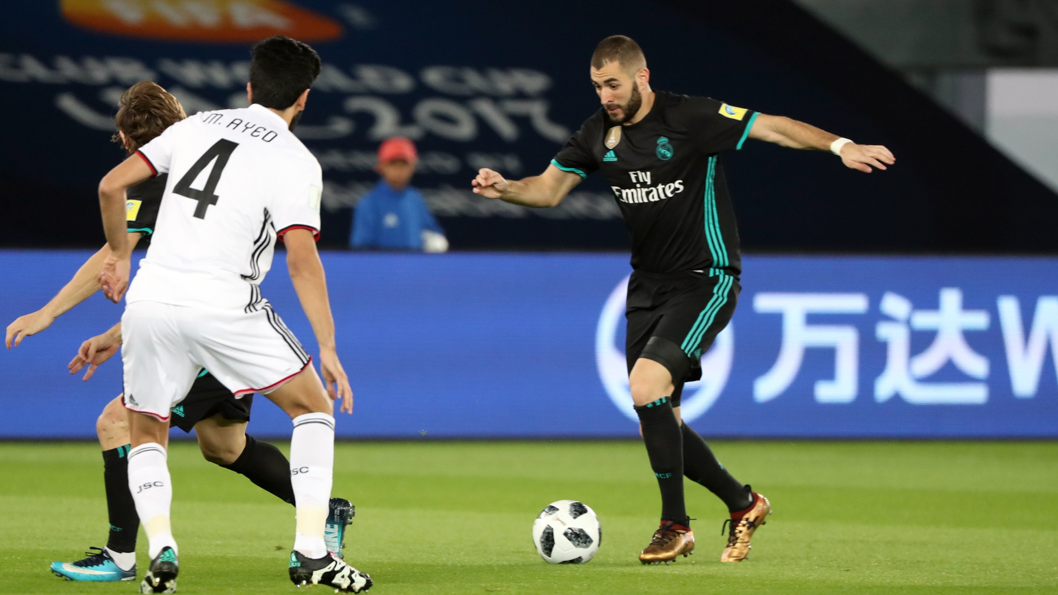 Karim Benzema Real Madrid Al Jazira Club World Cup 13122017