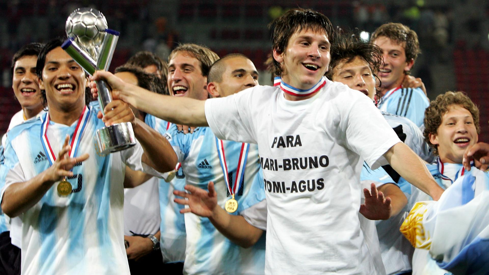 Lionel Messi Argentina 2005
