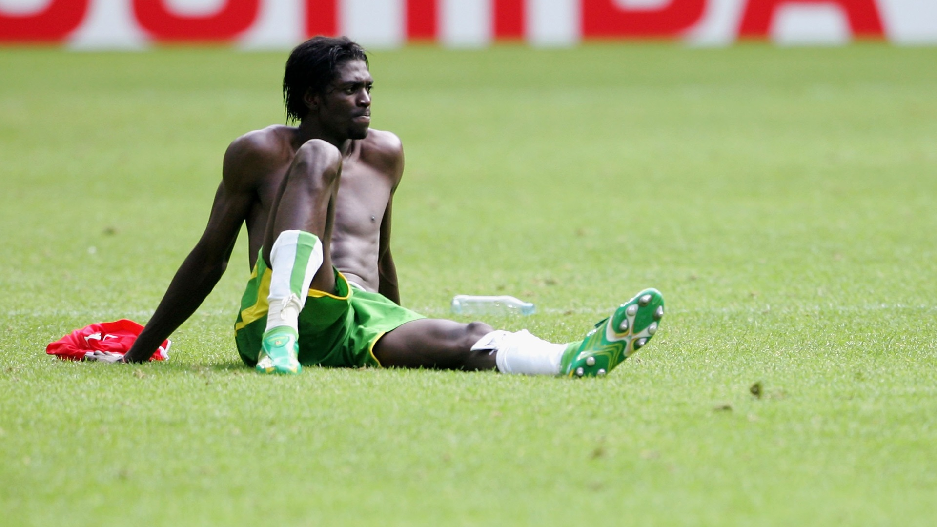 Emmanuel Adebayor of Togo