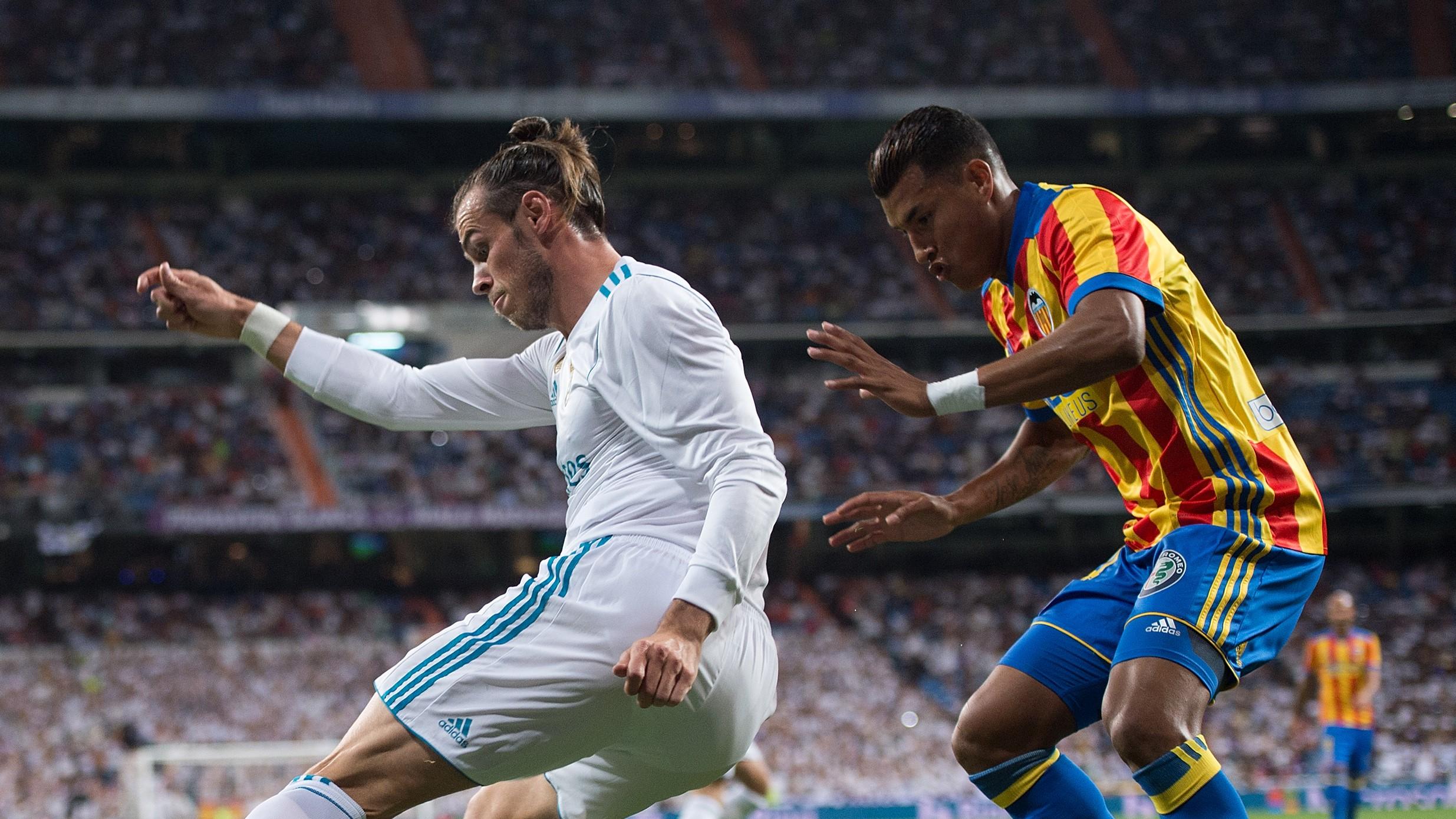 Gareth Bale Jeison Murillo Real Madrid Valencia LaLiga 27082017