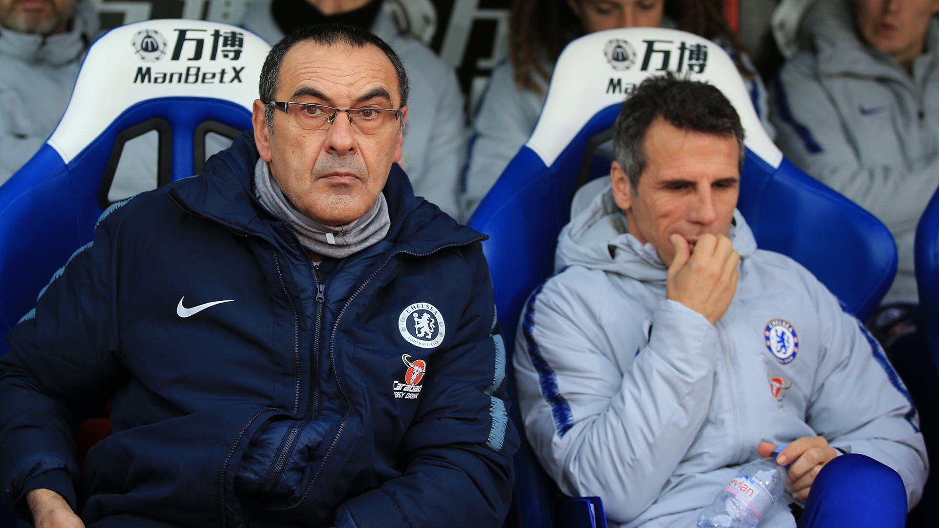 Zola to replace Sarri? Chelsea told to look closer to home for next boss