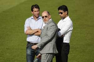 Antero Henrique - Maxwell - Nasser Al-Khelaifi - PSG