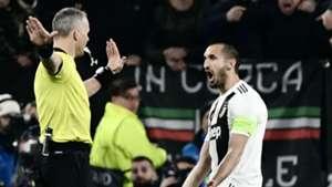 Chiellini Juventus Atletico Madrid Champions League