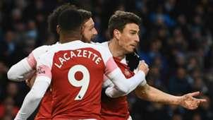 Laurent Koscielny Manchester City vs Arsenal Premier League 2018-19
