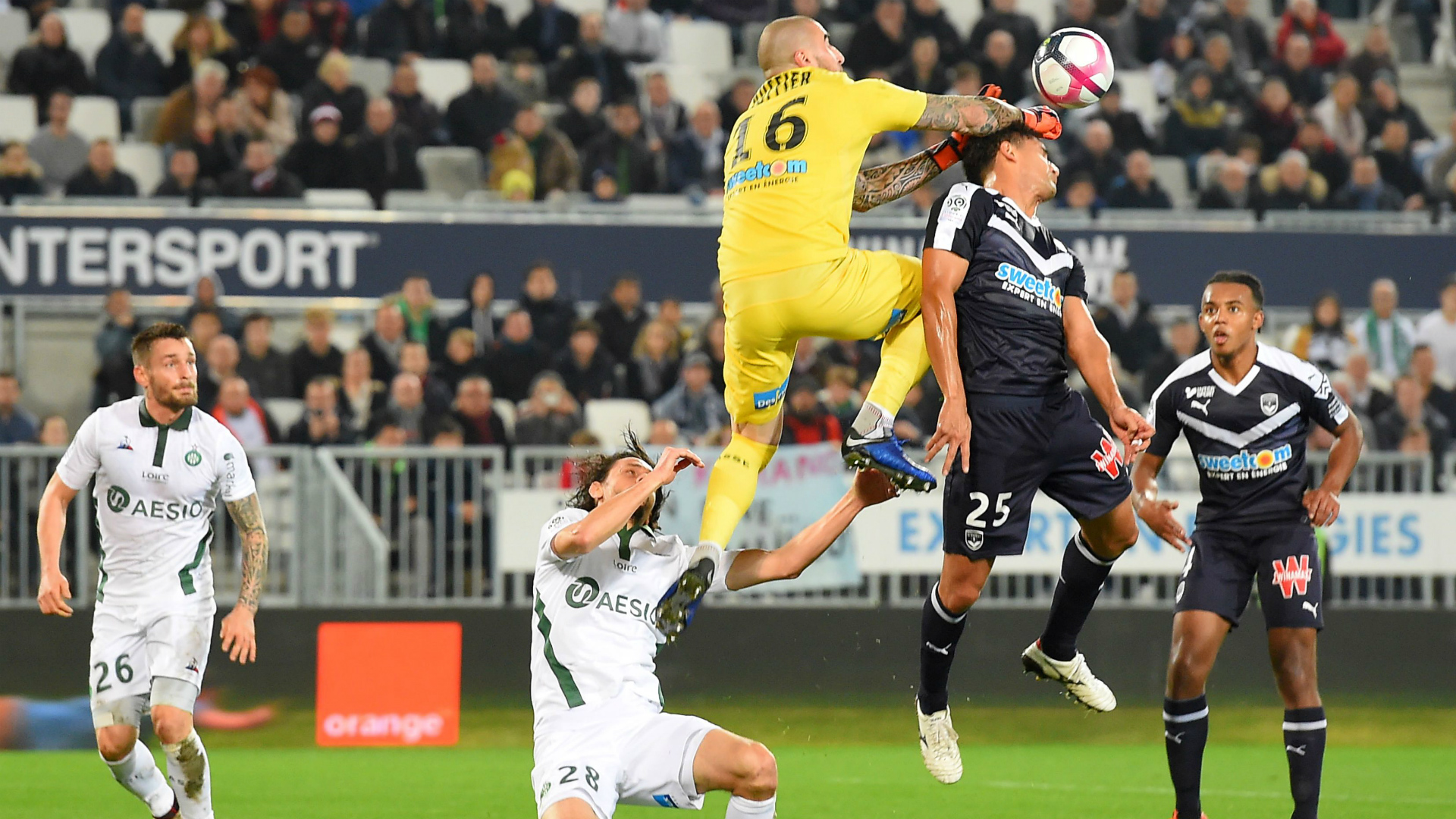 Neven Subotic Saint-Etienne Bordeaux