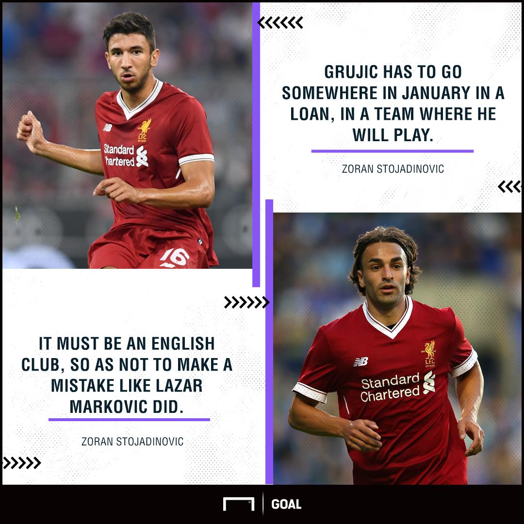Marko Grujic Liverpool loan Lazar Markovic mistake