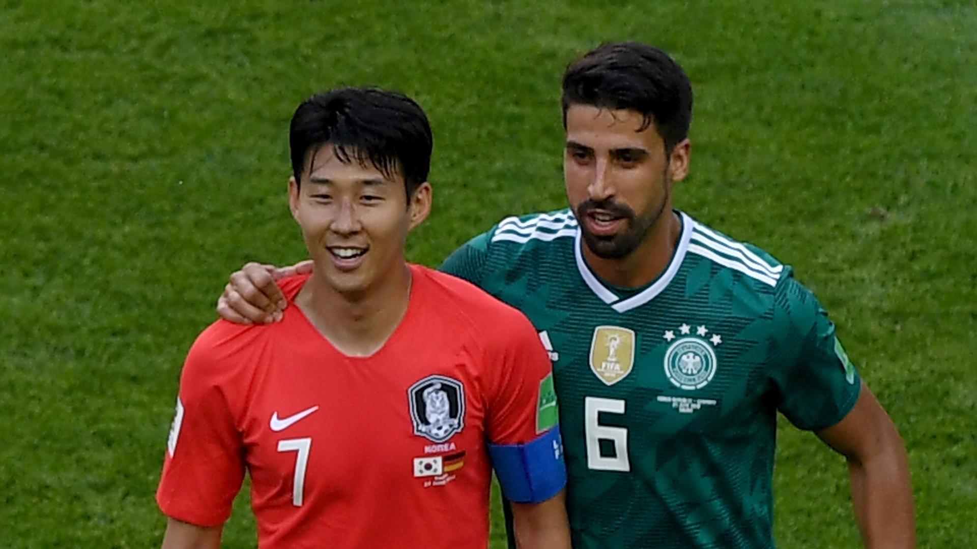 South Korea Germany Sami Khedira Heung-Min Son