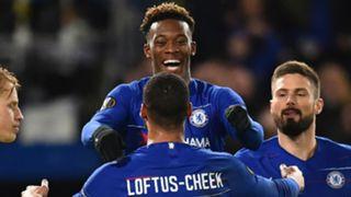 Callum Hudson-Odoi Ruben Loftus-Cheek Chelsea 2018-19