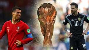 GFX Cristiano Ronaldo Lionel Messi WM Weltmeisterschaften Bilanz Tore
