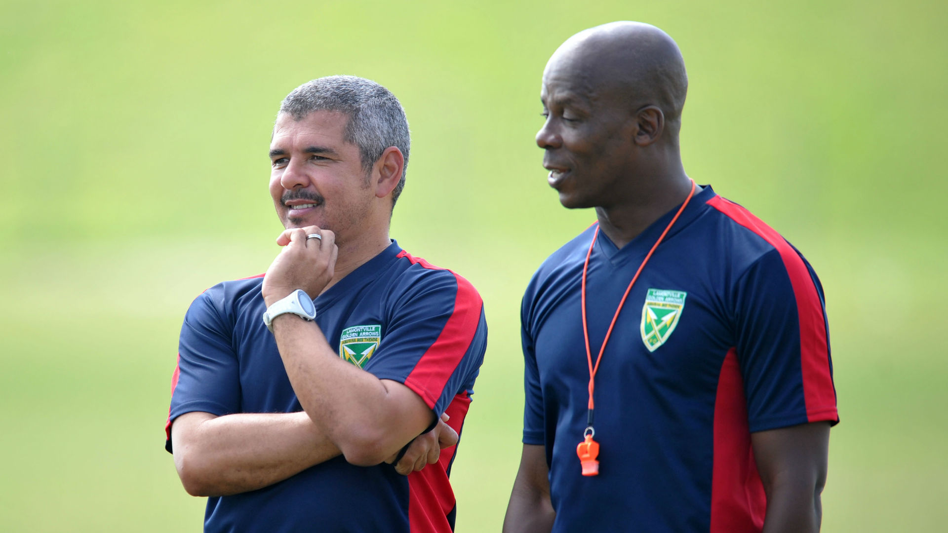 Clinton Larsen & Mandla Ncikazi, Golden Arrows