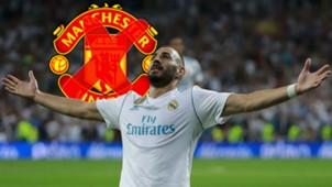 Karim Benzema Real Madrid Manchester United