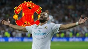 Karim Benzema Real Madrid Manchester United