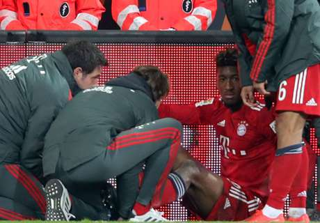 Bayern's Coman injured ahead of Liverpool clash