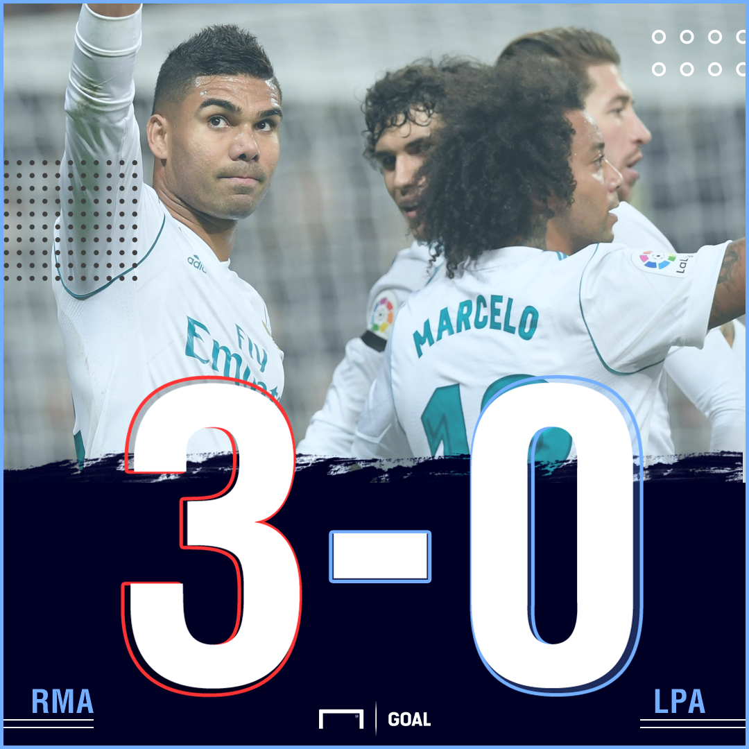 Real Madrid Las Palmas graphic