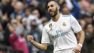 Benzema Malaga Real Madrid LaLiga