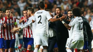 Varane Simeone Champions League 2014