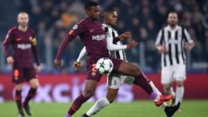 Nelson Semedo Douglas Costa Juventus Barcelona Champions League