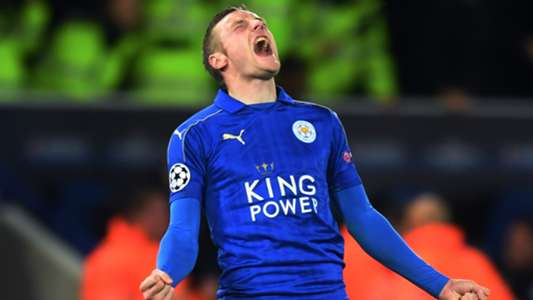 Jamie Vardy Leicester City Champions League