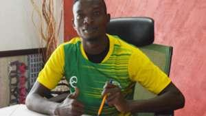 Tanzania winger Athanas Mdam signs for Kariobangi Sharks.