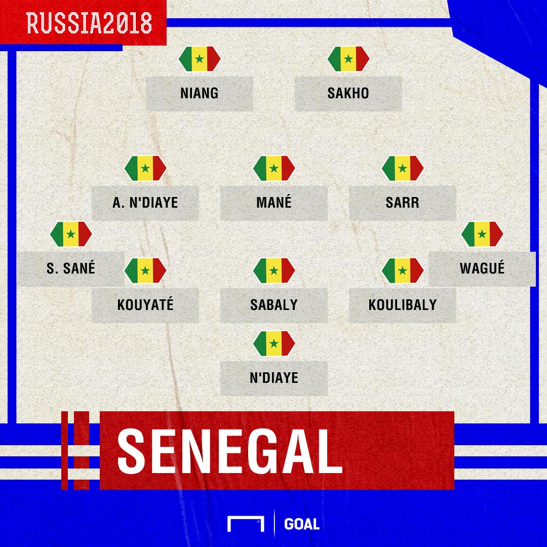 Escalação Senegal estreia