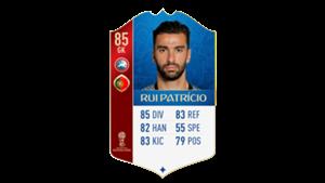 FIFA 18 UEFA World Cup Ratings Rui Patricio