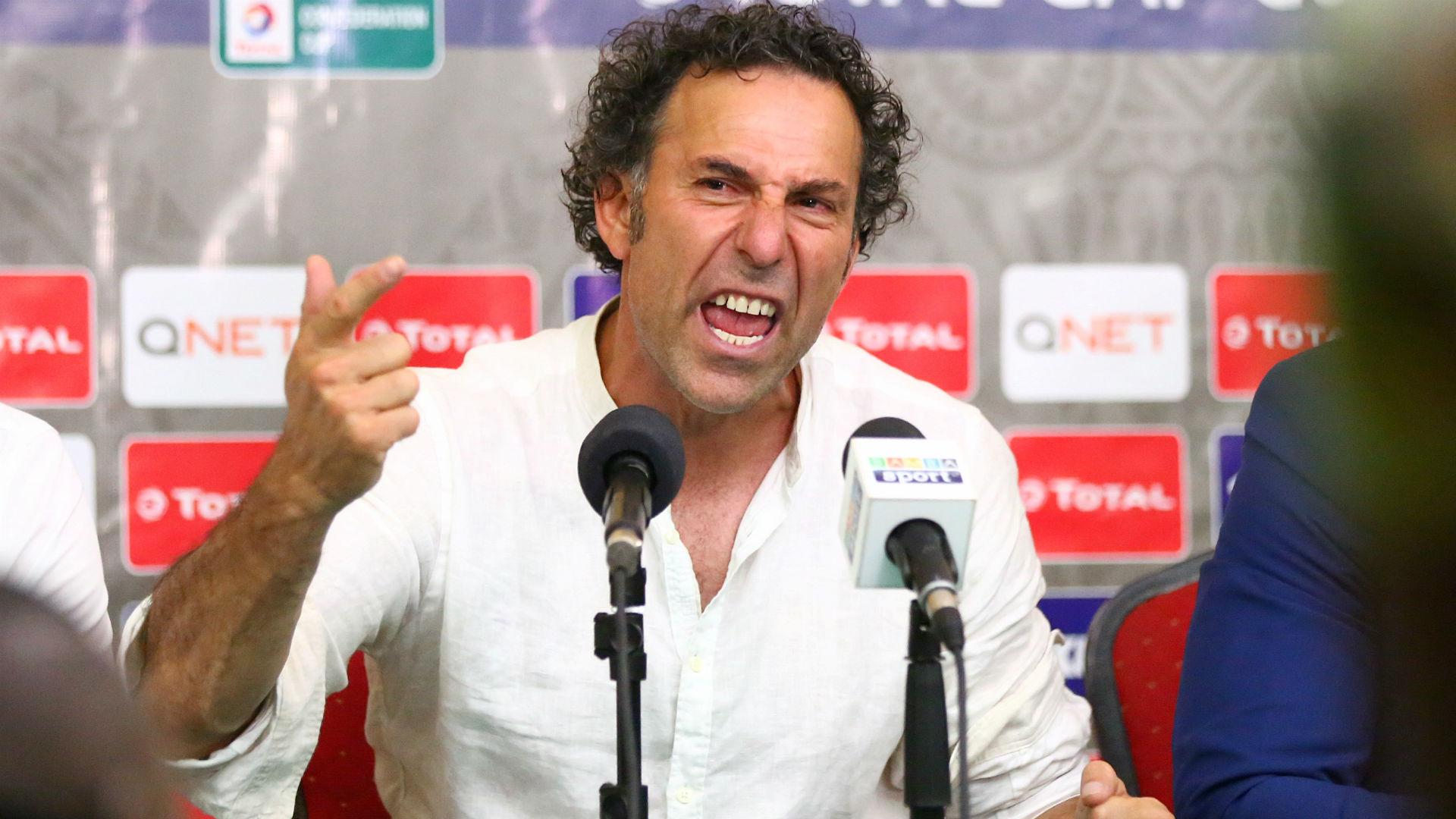 Gor Mahia coach Hassan Oktay.